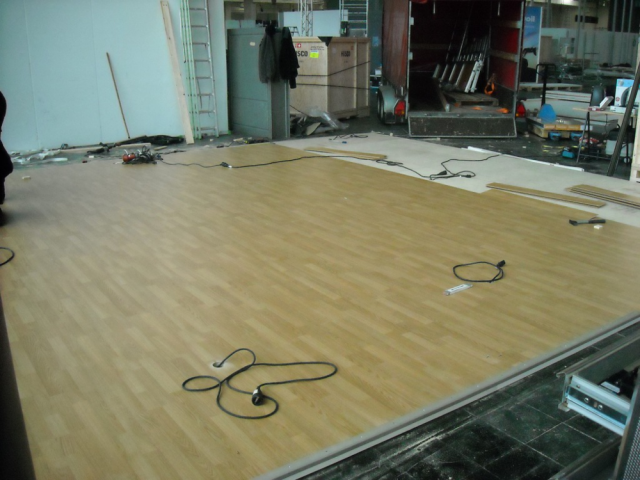Fußboden, Bodenbelag & Podest